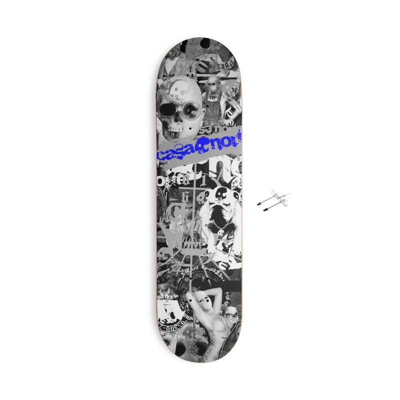 CasaNorte - CNWorldMV Accessories Skateboard by Casa Norte's Artist Shop