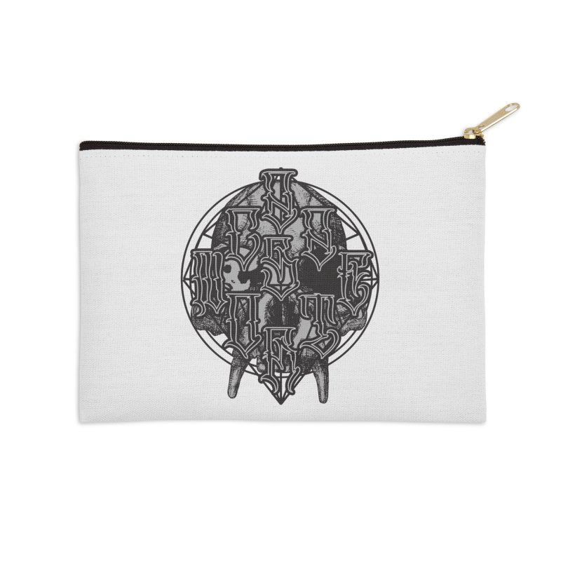 CasaNorte - WarApe Accessories Zip Pouch by Casa Norte's Artist Shop