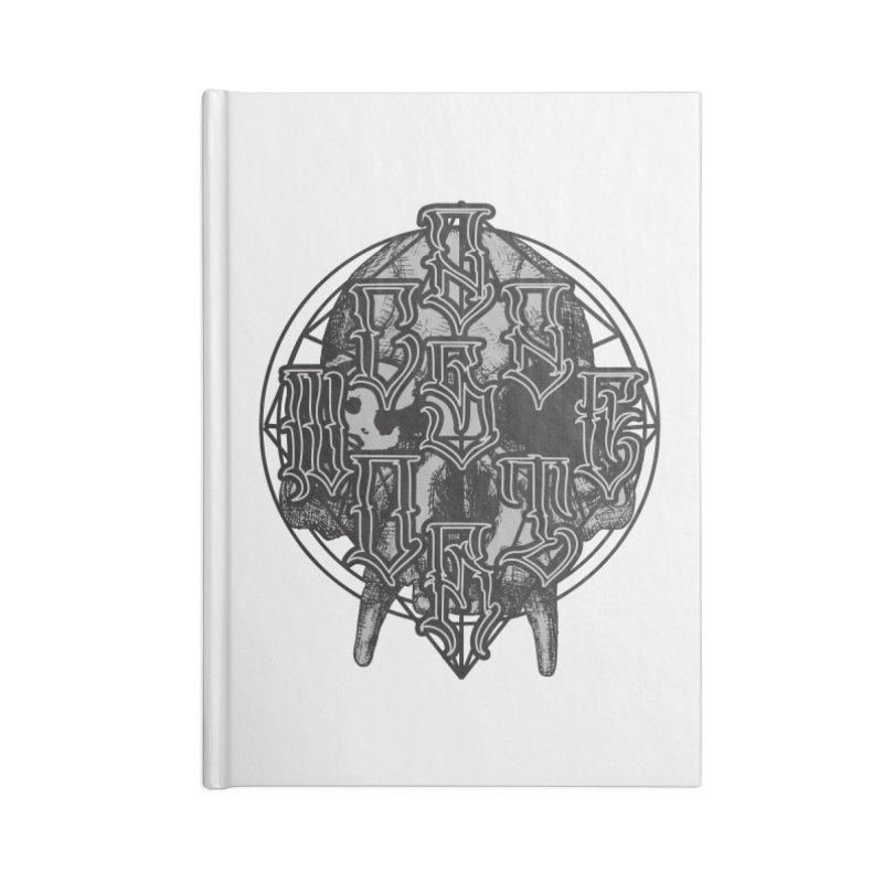 CasaNorte - WarApe Accessories Blank Journal Notebook by Casa Norte's Artist Shop