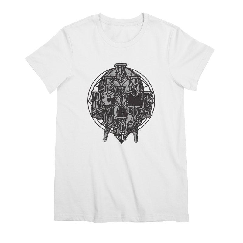 CasaNorte - WarApe Women's Premium T-Shirt by Casa Norte's Artist Shop