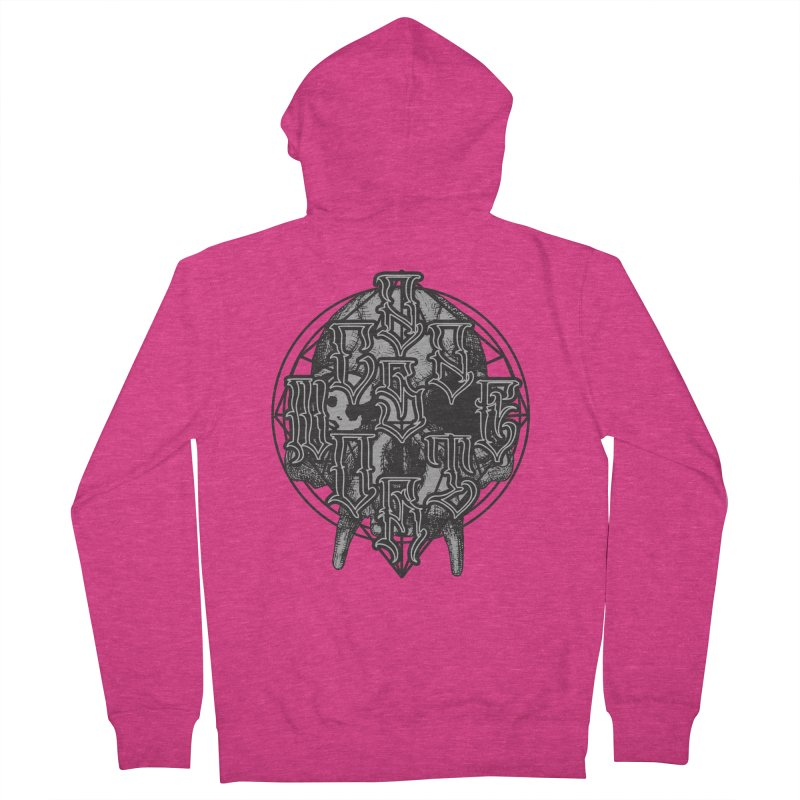 CasaNorte - WarApe Women's French Terry Zip-Up Hoody by Casa Norte's Artist Shop