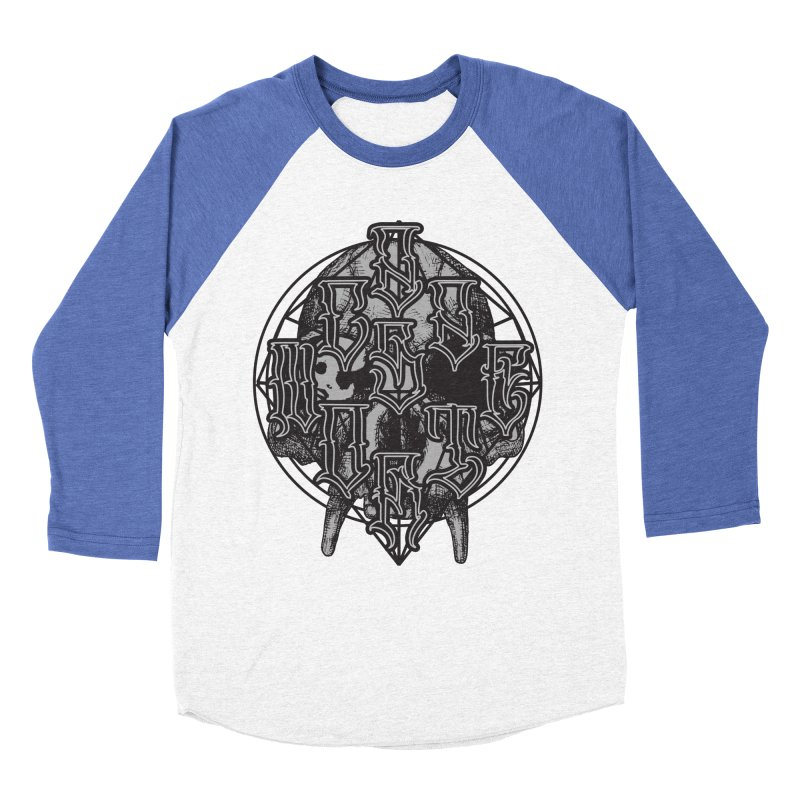 CasaNorte - WarApe Men's Baseball Triblend Longsleeve T-Shirt by Casa Norte's Artist Shop