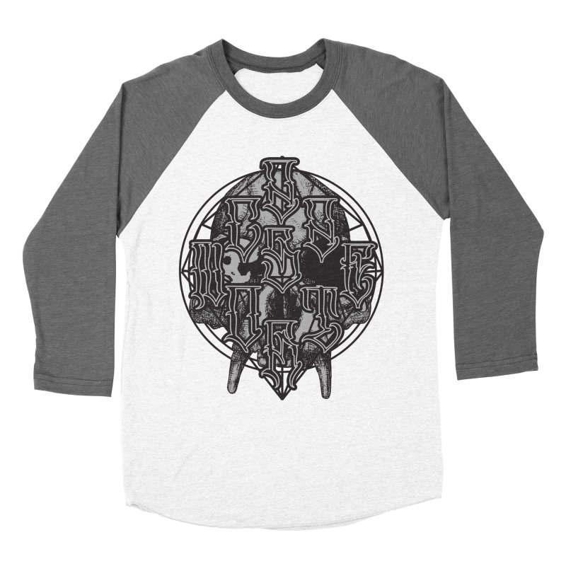 CasaNorte - WarApe Men's Baseball Triblend Longsleeve T-Shirt by Casa Norte's Artist Shop