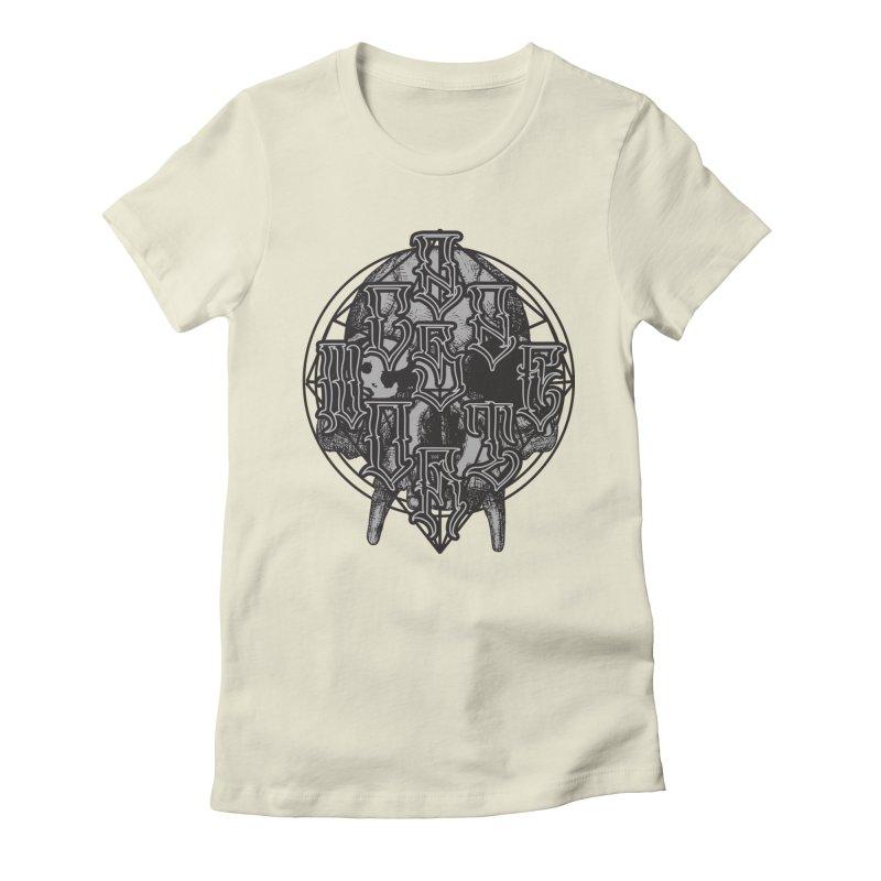 CasaNorte - WarApe Women's Fitted T-Shirt by Casa Norte's Artist Shop