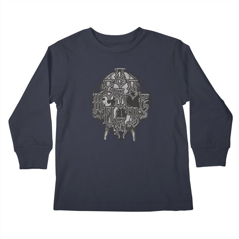 CasaNorte - WarApe Kids Longsleeve T-Shirt by Casa Norte's Artist Shop