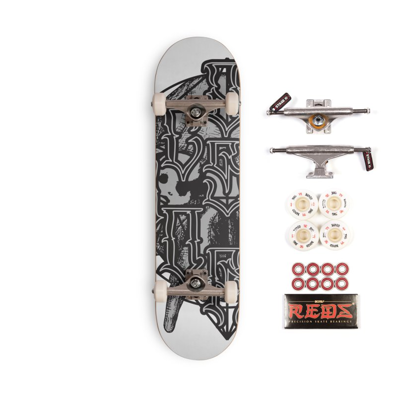 CasaNorte - WarApe Accessories Skateboard by Casa Norte's Artist Shop