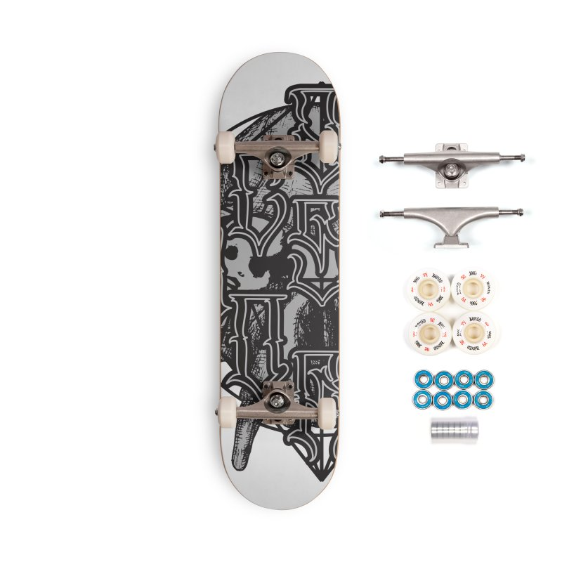 CasaNorte - WarApe Accessories Complete - Premium Skateboard by Casa Norte's Artist Shop