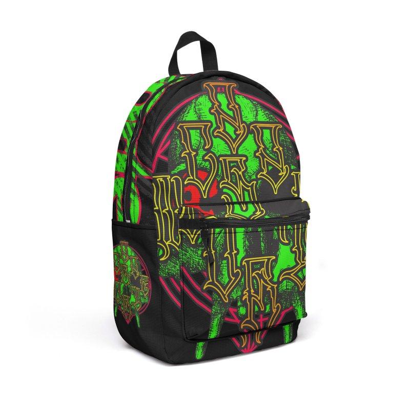 CasaNorte - WarApeGreen Accessories Backpack Bag by Casa Norte's Artist Shop