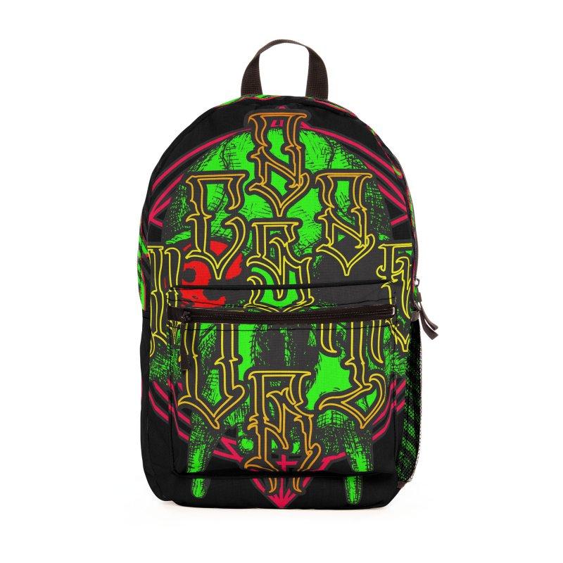 CasaNorte - WarApeGreen Accessories Bag by Casa Norte's Artist Shop