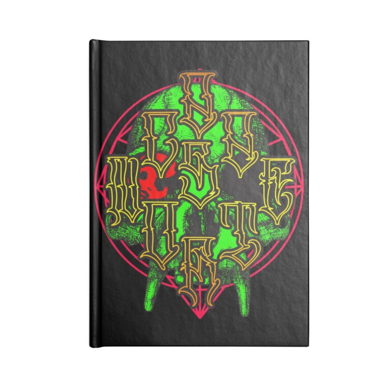 CasaNorte - WarApeGreen Accessories Lined Journal Notebook by Casa Norte's Artist Shop