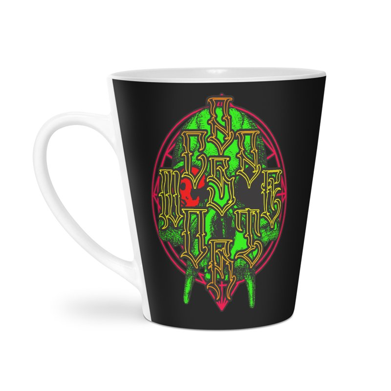 CasaNorte - WarApeGreen Accessories Latte Mug by Casa Norte's Artist Shop
