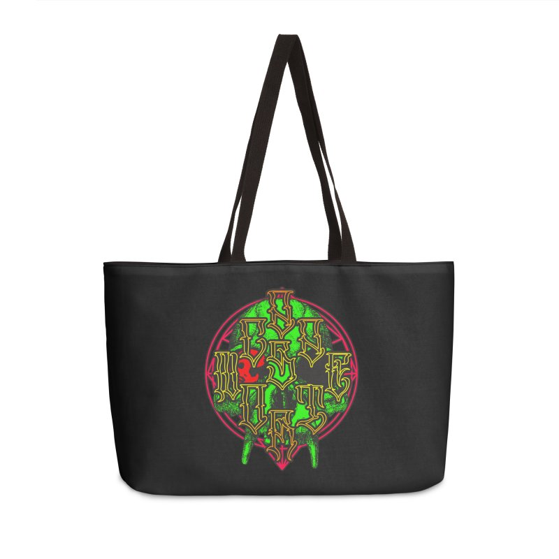 CasaNorte - WarApeGreen Accessories Weekender Bag Bag by Casa Norte's Artist Shop