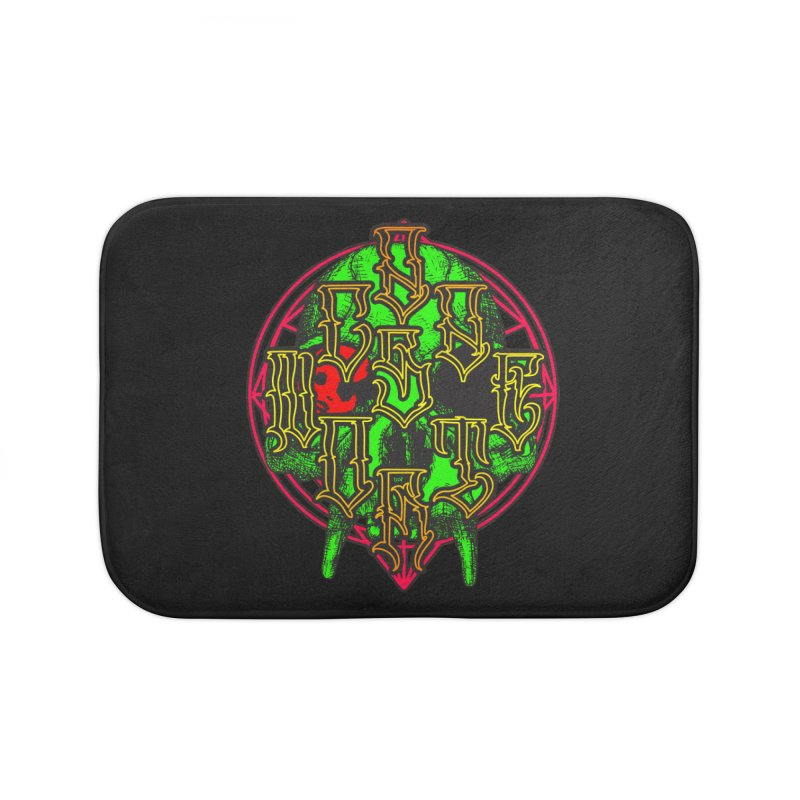 CasaNorte - WarApeGreen Home Bath Mat by CasaNorte's Artist Shop