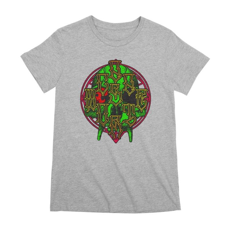 CasaNorte - WarApeGreen Women's Premium T-Shirt by Casa Norte's Artist Shop