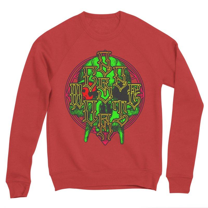 CasaNorte - WarApeGreen Women's Sponge Fleece Sweatshirt by Casa Norte's Artist Shop
