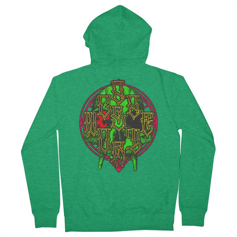 CasaNorte - WarApeGreen Women's Zip-Up Hoody by Casa Norte's Artist Shop
