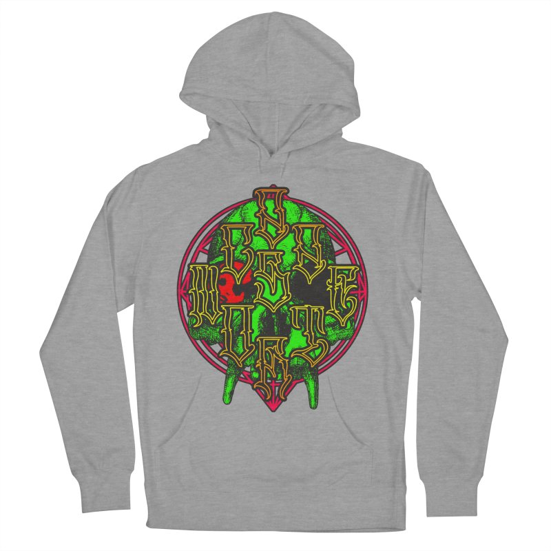 CasaNorte - WarApeGreen Men's French Terry Pullover Hoody by Casa Norte's Artist Shop