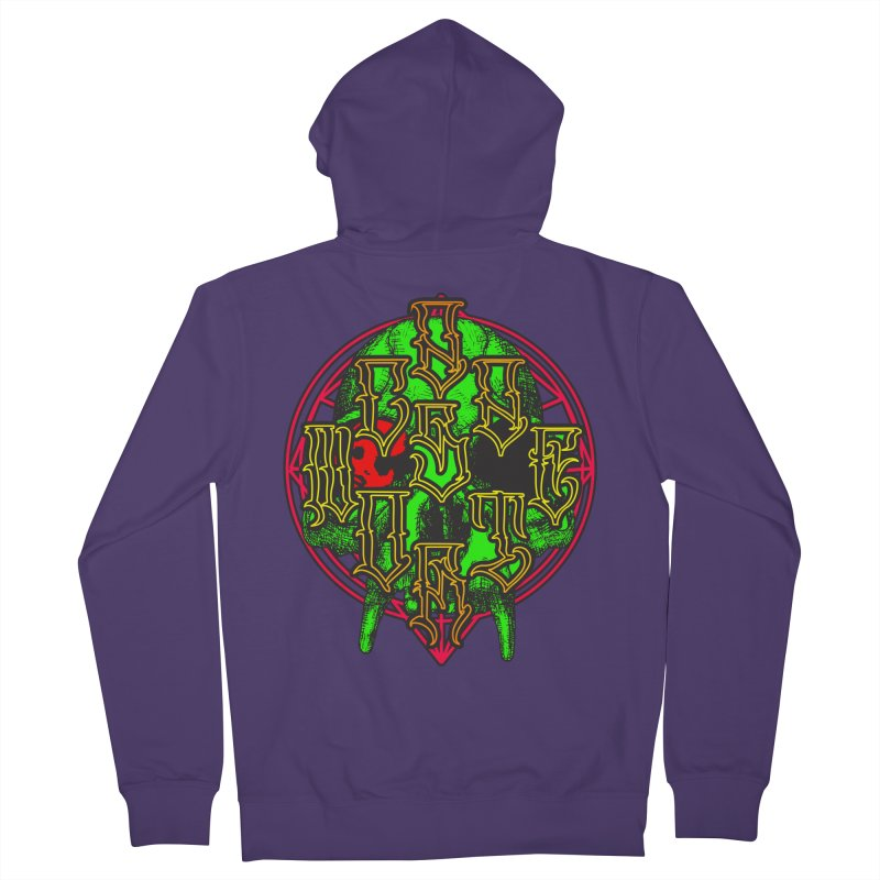 CasaNorte - WarApeGreen Women's French Terry Zip-Up Hoody by Casa Norte's Artist Shop