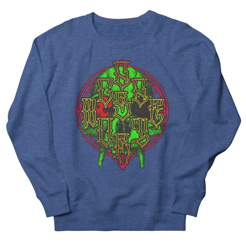 CasaNorte - WarApeGreen Women's French Terry Sweatshirt by Casa Norte's Artist Shop