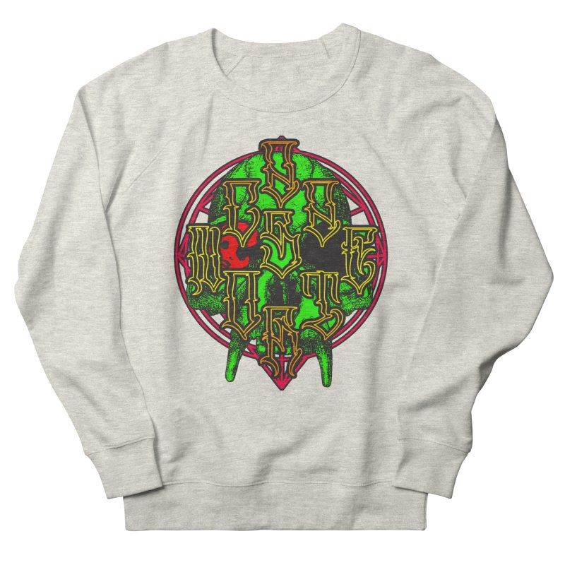 CasaNorte - WarApeGreen Women's French Terry Sweatshirt by Casa Norte's Artist Shop