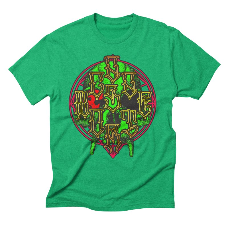 CasaNorte - WarApeGreen Men's Triblend T-Shirt by Casa Norte's Artist Shop