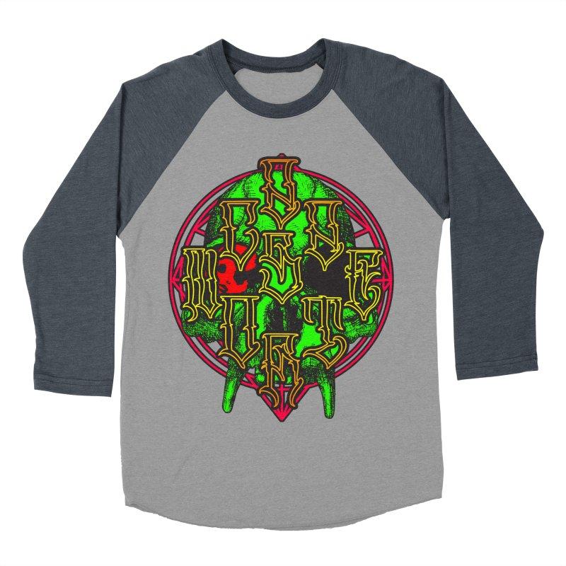 CasaNorte - WarApeGreen Men's Baseball Triblend Longsleeve T-Shirt by Casa Norte's Artist Shop