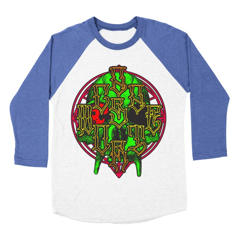 CasaNorte - WarApeGreen Men's Baseball Triblend Longsleeve T-Shirt by Casa Norte's Artist Shop