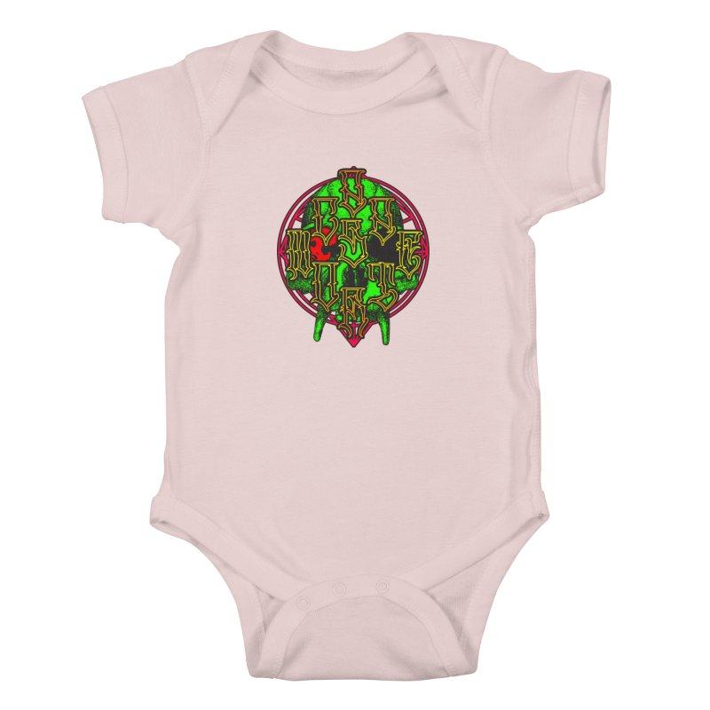 CasaNorte - WarApeGreen Kids Baby Bodysuit by Casa Norte's Artist Shop
