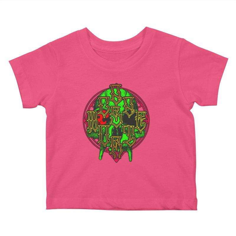 CasaNorte - WarApeGreen Kids Baby T-Shirt by Casa Norte's Artist Shop