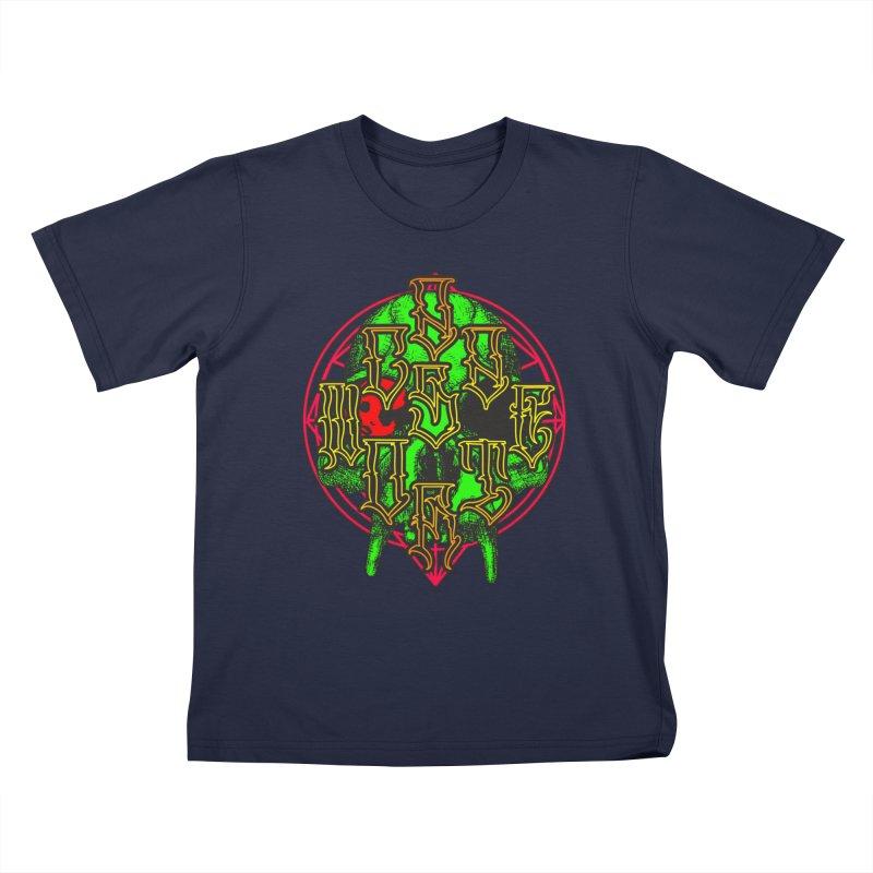 CasaNorte - WarApeGreen Kids T-Shirt by Casa Norte's Artist Shop