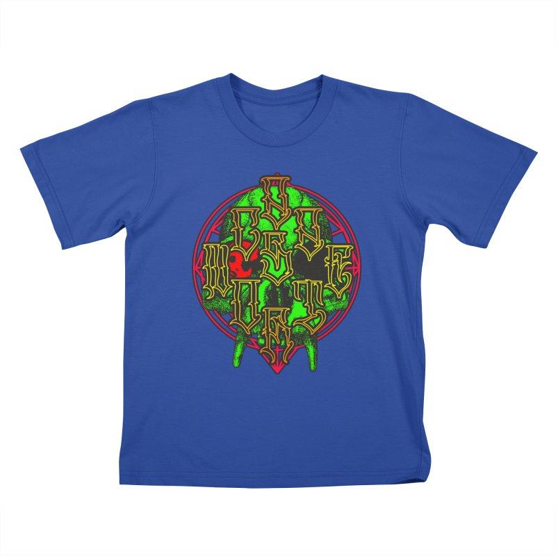 CasaNorte - WarApeGreen Kids T-Shirt by CasaNorte's Artist Shop