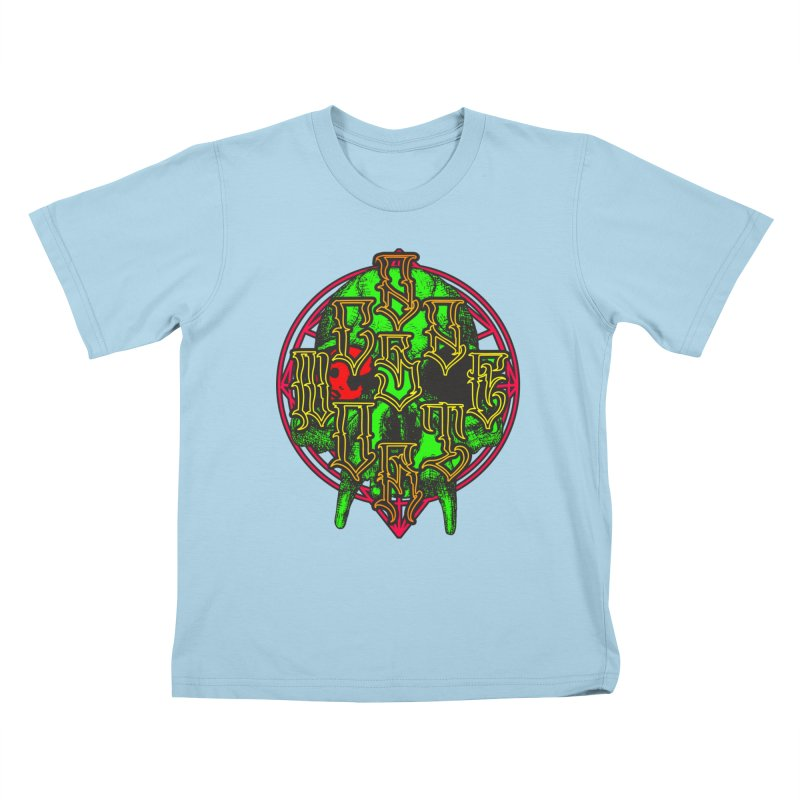CasaNorte - WarApeGreen Kids T-Shirt by Casa Norte's Artist Shop