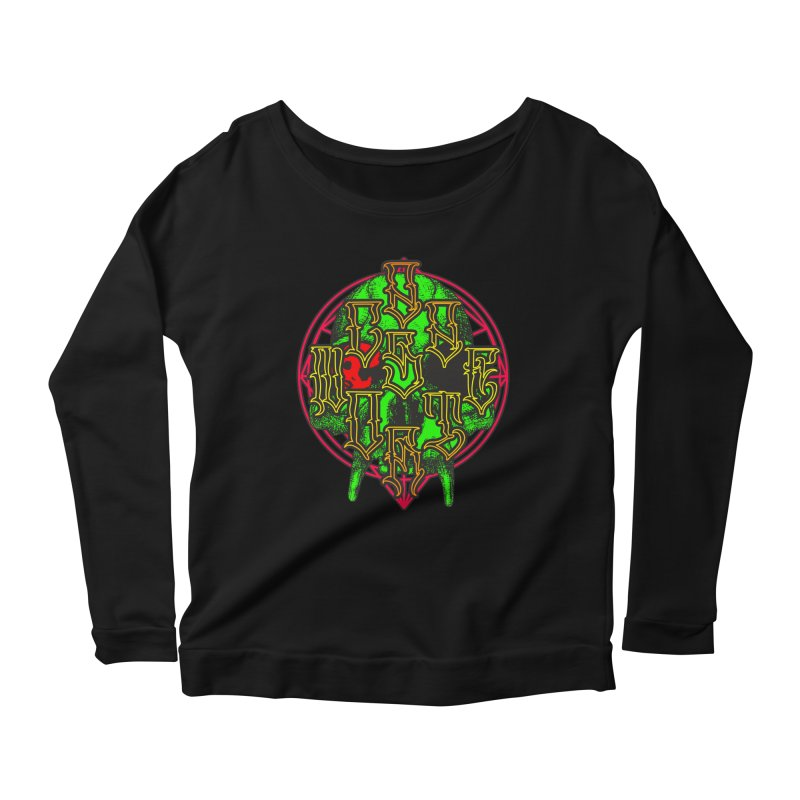 CasaNorte - WarApeGreen Women's Scoop Neck Longsleeve T-Shirt by Casa Norte's Artist Shop
