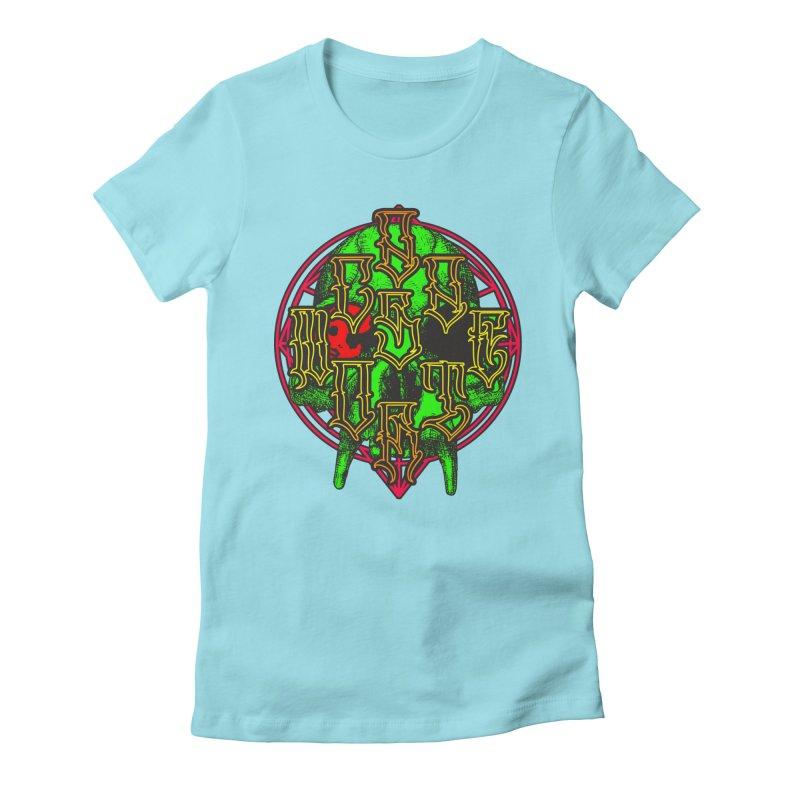 CasaNorte - WarApeGreen Women's Fitted T-Shirt by Casa Norte's Artist Shop
