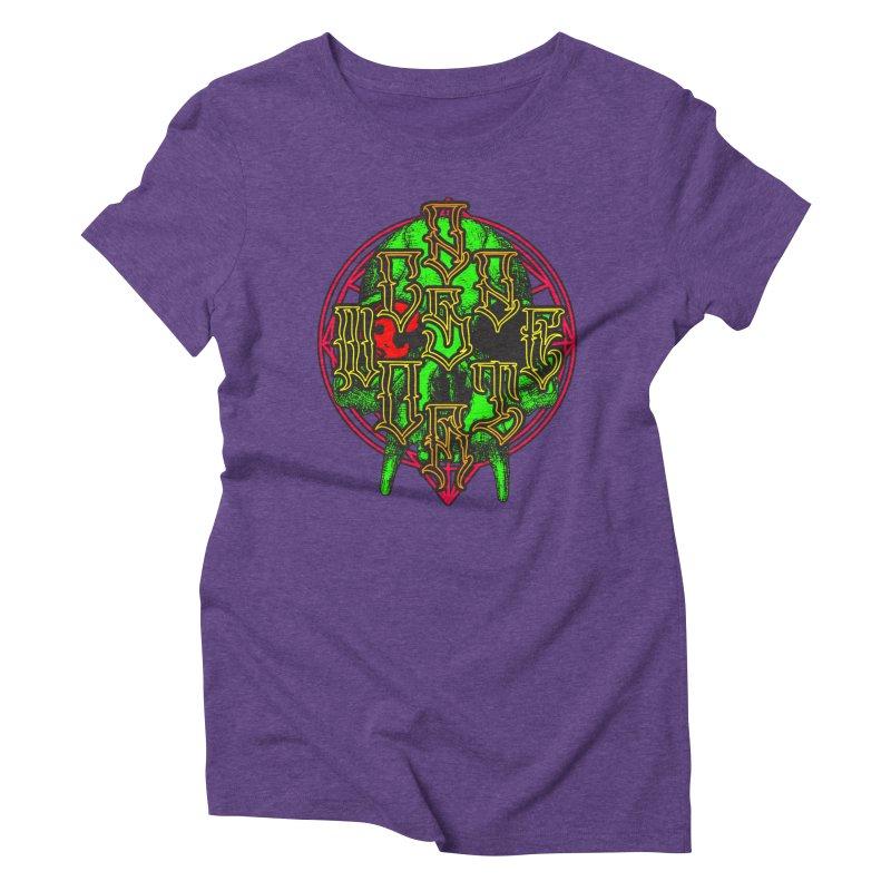 CasaNorte - WarApeGreen Women's Triblend T-Shirt by Casa Norte's Artist Shop