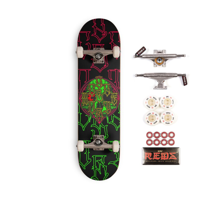 CasaNorte - WarApeGreen Accessories Complete - Pro Skateboard by Casa Norte's Artist Shop