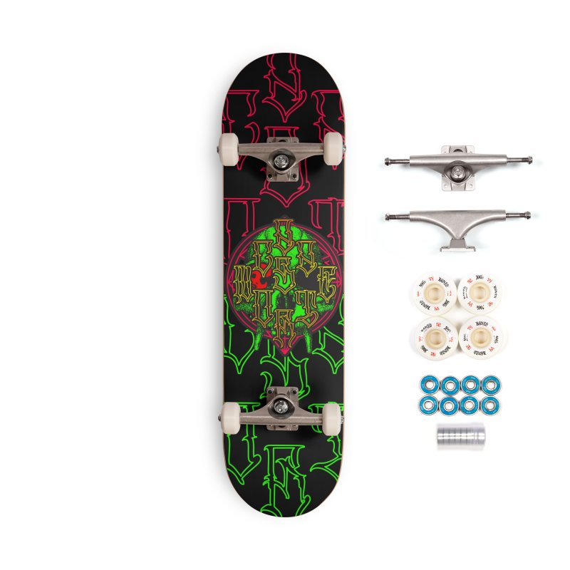 CasaNorte - WarApeGreen Accessories Complete - Premium Skateboard by Casa Norte's Artist Shop