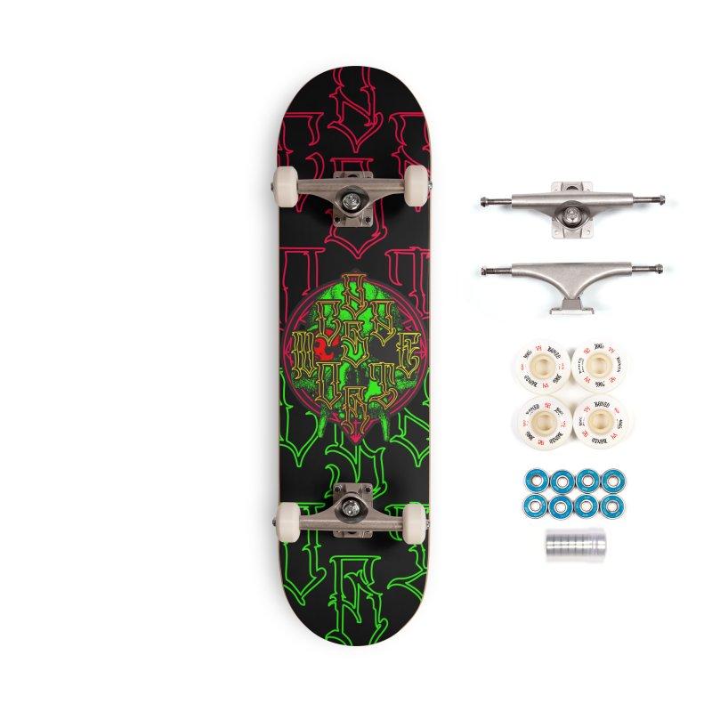 CasaNorte - WarApeGreen Accessories Skateboard by Casa Norte's Artist Shop