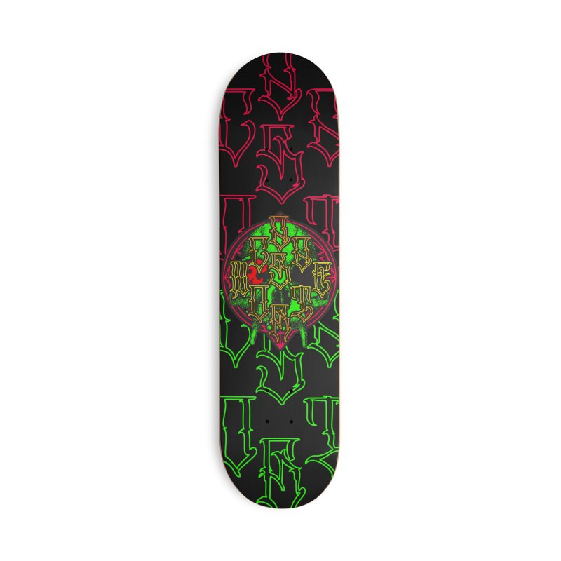 CasaNorte - WarApeGreen Accessories Deck Only Skateboard by Casa Norte's Artist Shop