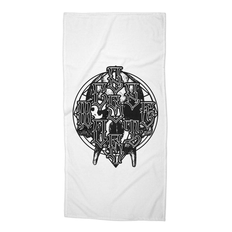 CasaNorte - WarApeB Accessories Beach Towel by Casa Norte's Artist Shop
