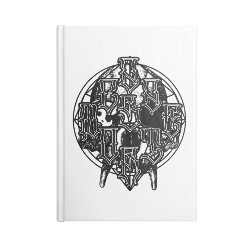 CasaNorte - WarApeB Accessories Lined Journal Notebook by Casa Norte's Artist Shop