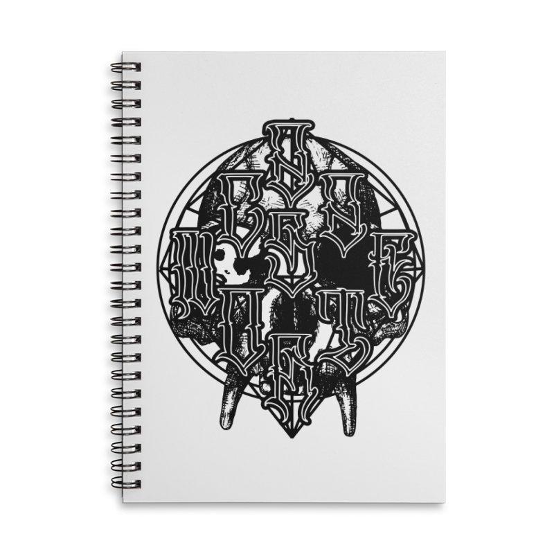 CasaNorte - WarApeB Accessories Lined Spiral Notebook by Casa Norte's Artist Shop
