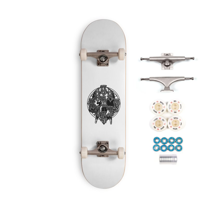 CasaNorte - WarApeB Accessories Complete - Premium Skateboard by Casa Norte's Artist Shop