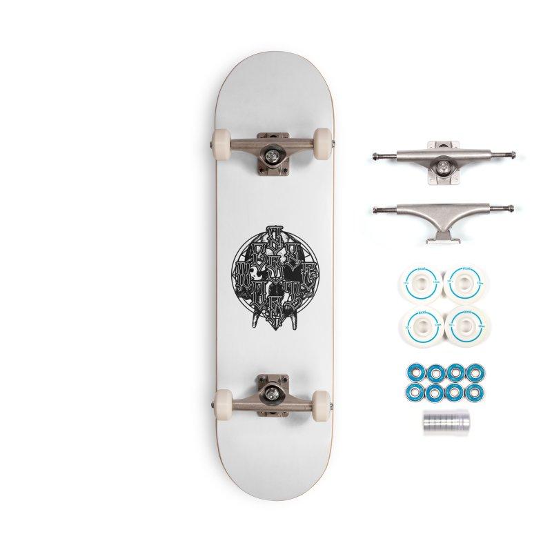 CasaNorte - WarApeB Accessories Complete - Basic Skateboard by Casa Norte's Artist Shop