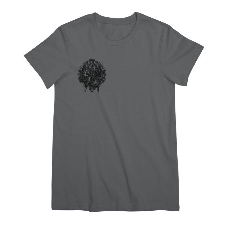 CasaNorte - WarApeB Women's Premium T-Shirt by Casa Norte's Artist Shop