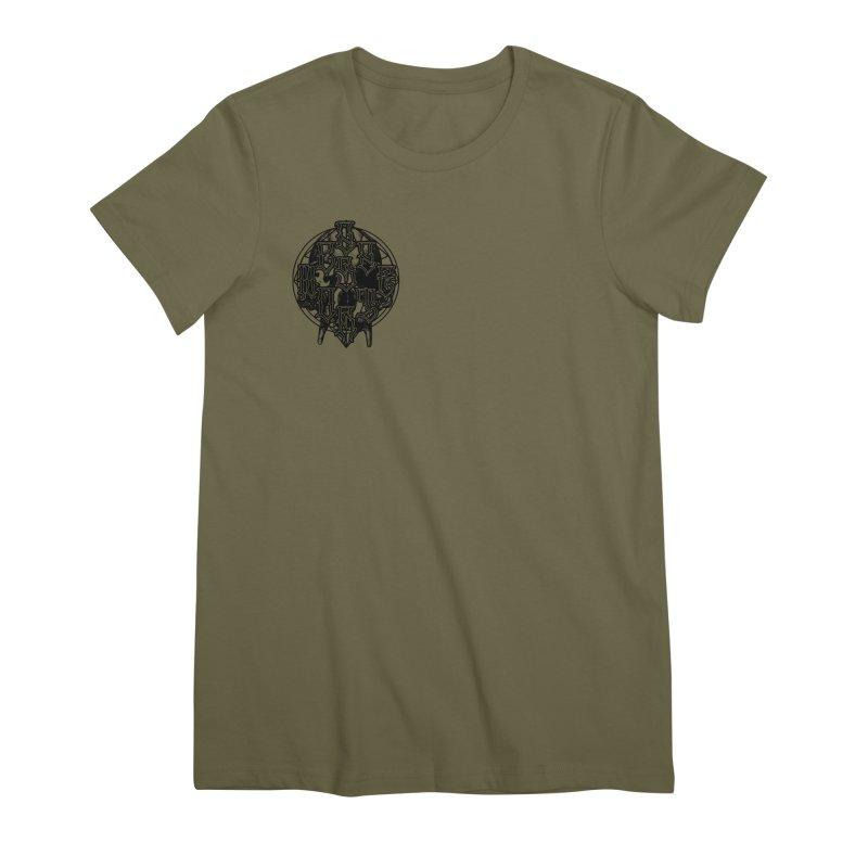 CasaNorte - WarApeB Women's Premium T-Shirt by CasaNorte's Artist Shop