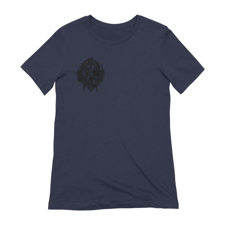 CasaNorte - WarApeB Women's Extra Soft T-Shirt by Casa Norte's Artist Shop