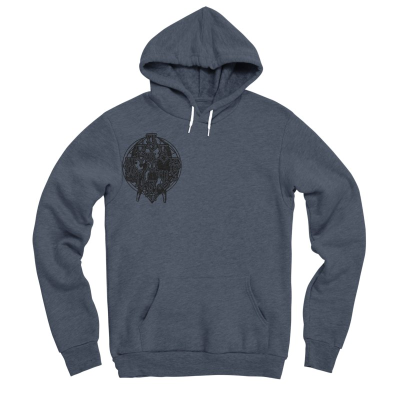 CasaNorte - WarApeB Men's Sponge Fleece Pullover Hoody by Casa Norte's Artist Shop