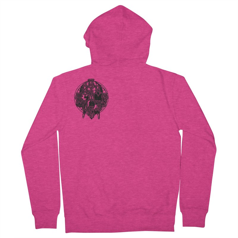 CasaNorte - WarApeB Women's French Terry Zip-Up Hoody by Casa Norte's Artist Shop