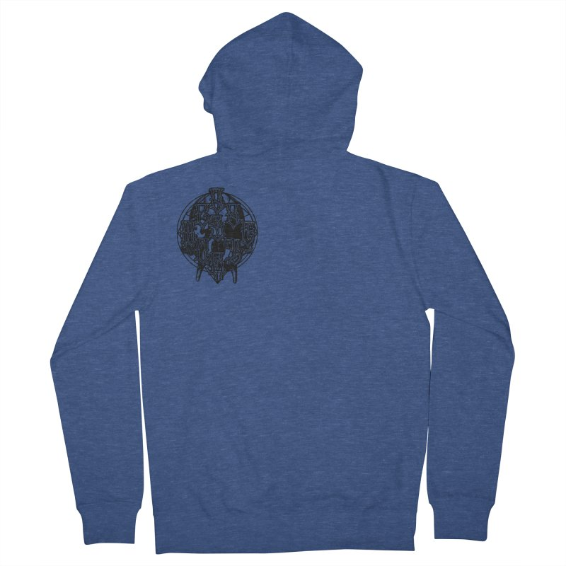 CasaNorte - WarApeB Men's French Terry Zip-Up Hoody by Casa Norte's Artist Shop